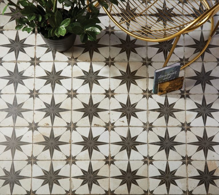 Spitalfields Retro Star LS, Premier Tiles Barrow - the Largest Supplier of Tiles in South Cumbria