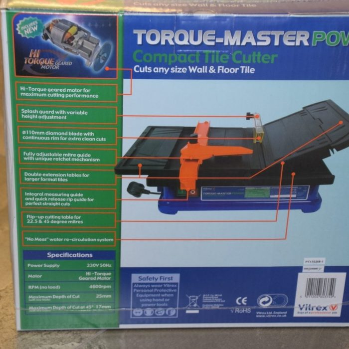 Compact Tile Cutter, Rapid Level 30, Premier Tiles Barrow - the Largest Supplier of Tiles in South Cumbria