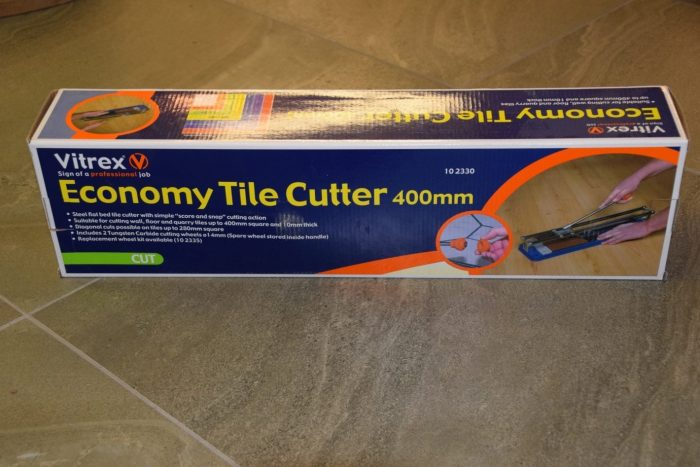 Economy Tile Cutter, Rapid Level 30, Premier Tiles Barrow - the Largest Supplier of Tiles in South Cumbria