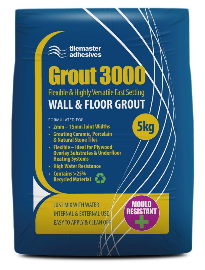Grout 3000, Rapid Level 30, Premier Tiles Barrow - the Largest Supplier of Tiles in South Cumbria