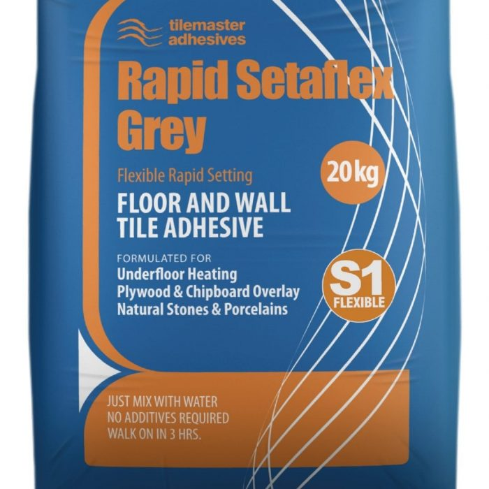 Rapid Setaflex Grey, Premier Tiles Barrow - the Largest Supplier of Tiles in South Cumbria